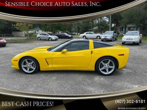2006 Chevrolet Corvette for sale at Sensible Choice Auto Sales, Inc. in Longwood FL