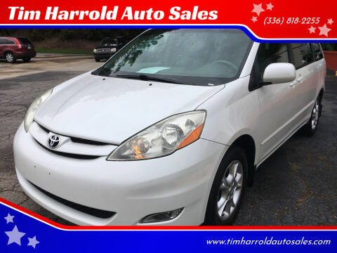 2006 Toyota Sienna for sale at Tim Harrold Auto Sales in Wilkesboro NC