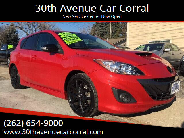 2010 Mazda MAZDASPEED3 for sale at 30th Avenue Car Corral in Kenosha WI