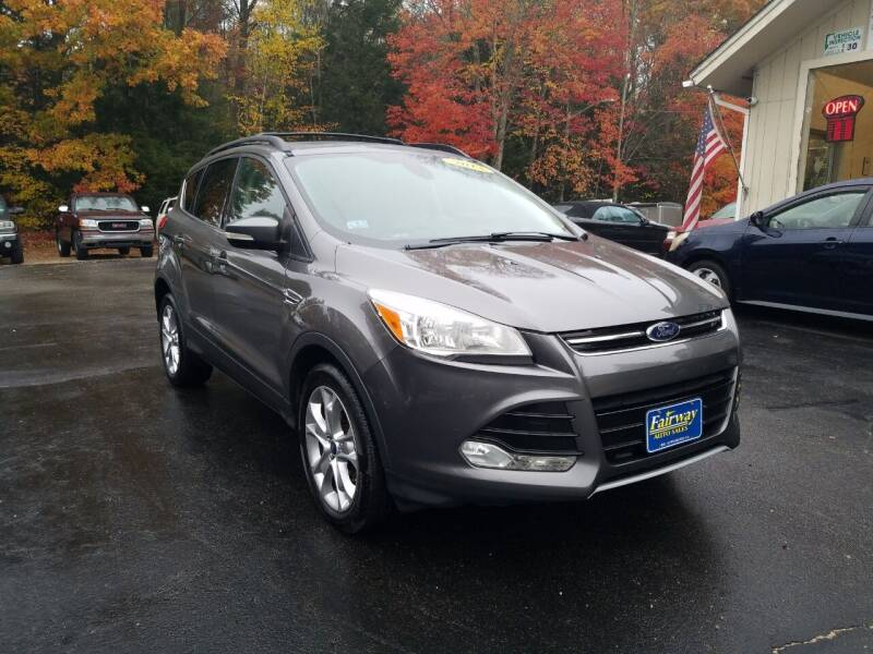 2013 Ford Escape for sale at Fairway Auto Sales in Rochester NH