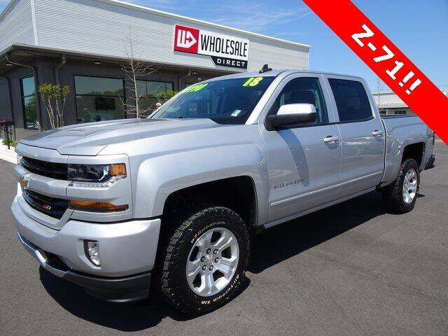 2018 Chevrolet Silverado 1500 for sale at Wholesale Direct in Wilmington NC