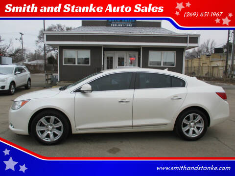 2012 Buick LaCrosse for sale at Smith and Stanke Auto Sales in Sturgis MI