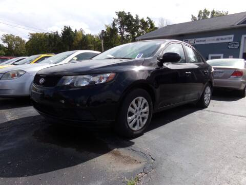 2010 Kia Forte for sale at Pool Auto Sales Inc in Spencerport NY