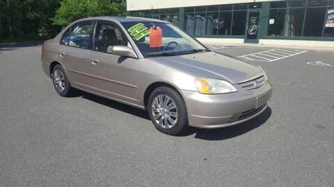 2001 Honda Civic for sale at Russo's Auto Exchange LLC in Enfield CT