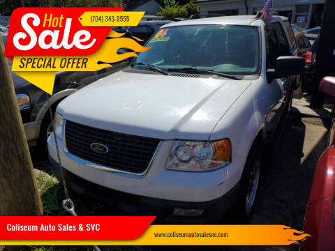 2006 Ford Expedition for sale at Coliseum Auto Sales & SVC in Charlotte NC