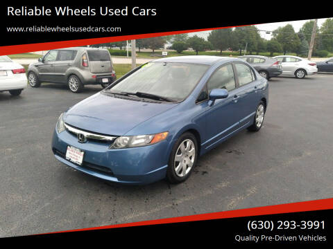 2006 Honda Civic for sale at Reliable Wheels Used Cars in West Chicago IL