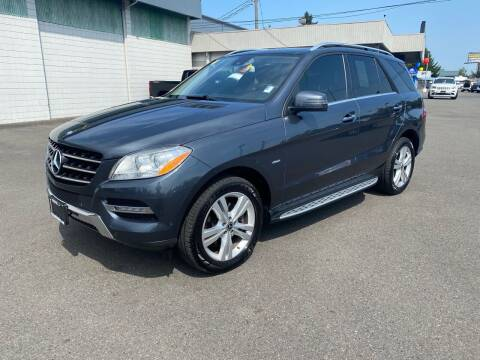 2012 Mercedes-Benz M-Class for sale at Vista Auto Sales in Lakewood WA