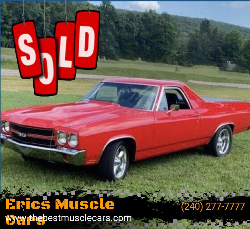 1970 Chevrolet El Camino SOLD SOLD SOLD
