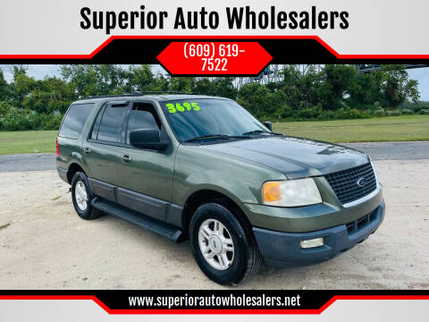 2004 Ford Expedition for sale at Superior Auto Wholesalers in Burlington NJ