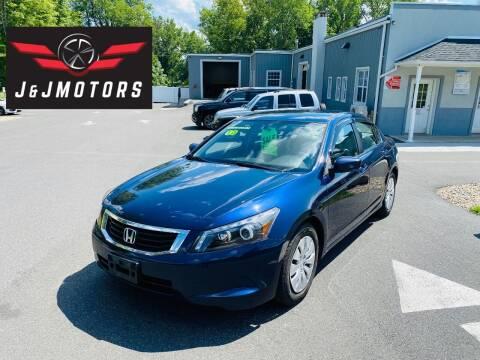 2010 Honda Accord for sale at J & J MOTORS in New Milford CT