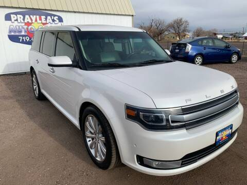 2014 Ford Flex for sale at Praylea's Auto Sales in Peyton CO