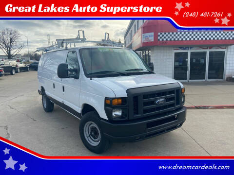 2013 Ford E-Series Cargo for sale at Great Lakes Auto Superstore in Pontiac MI