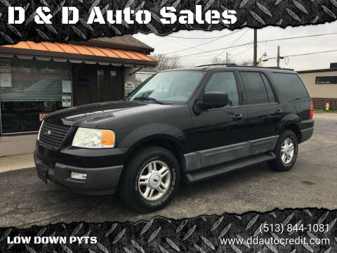 2004 Ford Expedition for sale at D & D Auto Sales in Hamilton OH