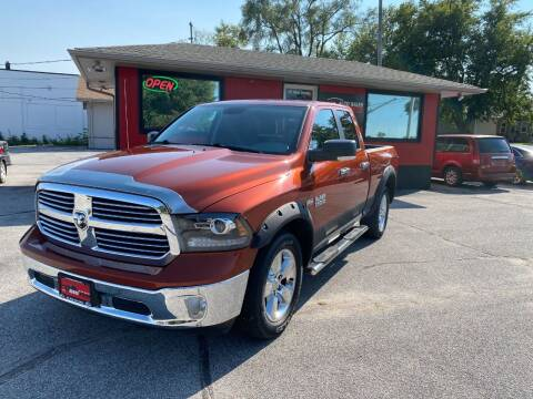 2013 RAM Ram Pickup 1500 for sale at Big Red Auto Sales in Papillion NE