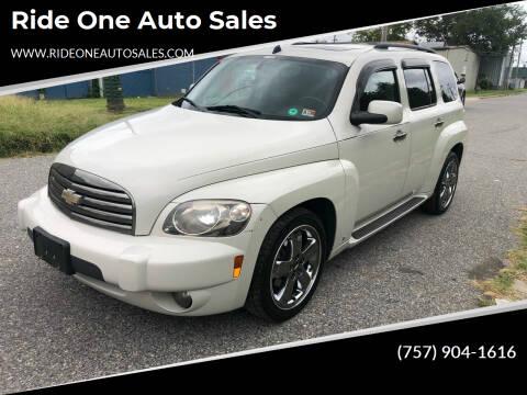 2007 Chevrolet HHR for sale at Ride One Auto Sales in Norfolk VA