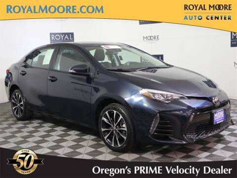 2017 Toyota Corolla for sale at Royal Moore Custom Finance in Hillsboro OR