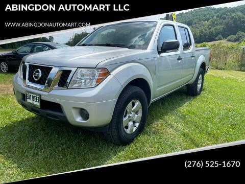 2013 Nissan Frontier for sale at ABINGDON AUTOMART LLC in Abingdon VA
