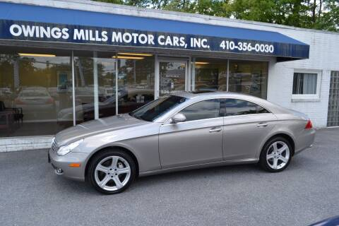 2006 Mercedes-Benz CLS for sale at Owings Mills Motor Cars in Owings Mills MD