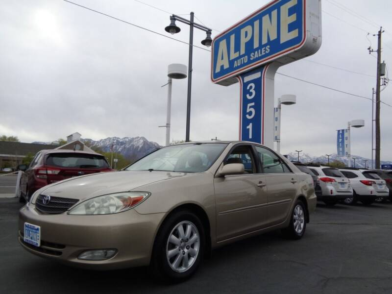 2003 Toyota Camry for sale at Alpine Auto Sales in Salt Lake City UT