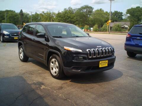2014 Jeep Cherokee for sale at BestBuyAutoLtd in Spring Grove IL