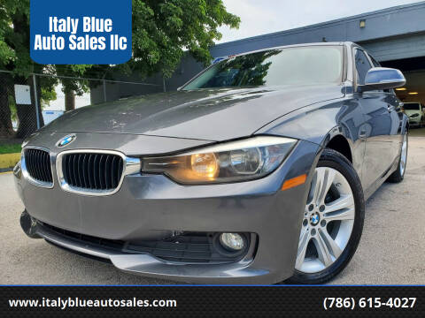 2014 BMW 3 Series for sale at Italy Blue Auto Sales llc in Miami FL
