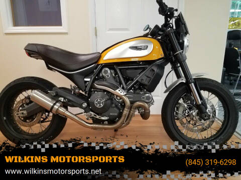 2017 Ducati Scrambler 800 Classic for sale at WILKINS MOTORSPORTS in Brewster NY