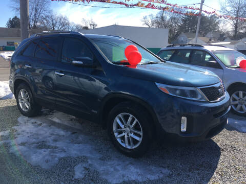 2014 Kia Sorento for sale at Antique Motors in Plymouth IN