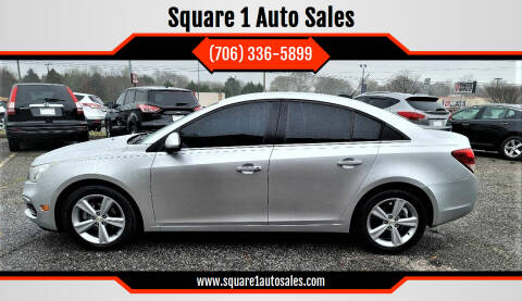 2015 Chevrolet Cruze for sale at Square 1 Auto Sales - Commerce in Commerce GA