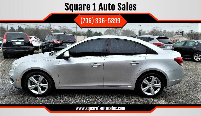 2015 Chevrolet Cruze for sale at Square 1 Auto Sales - Commerce in Commerce GA