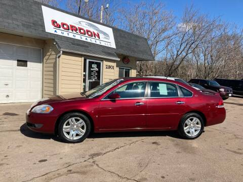 2007 Chevrolet Impala for sale at Gordon Auto Sales LLC in Sioux City IA