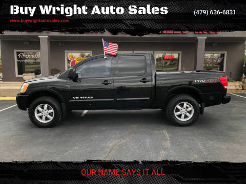 2012 Nissan Titan for sale at Buy Wright Auto Sales in Rogers AR