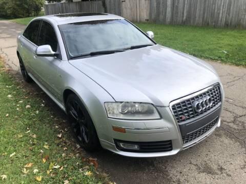 2008 Audi S8 for sale at Urban Motors llc. in Columbus OH