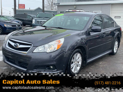 2012 Subaru Legacy for sale at Capitol Auto Sales in Lansing MI