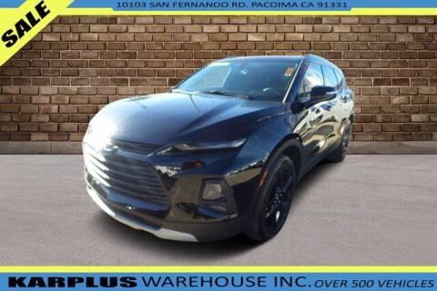 2019 Chevrolet Blazer for sale at Karplus Warehouse in Pacoima CA