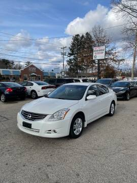 2012 Nissan Altima for sale at NEWFOUND MOTORS INC in Seabrook NH