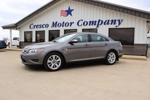 2012 Ford Taurus for sale at Cresco Motor Company in Cresco IA