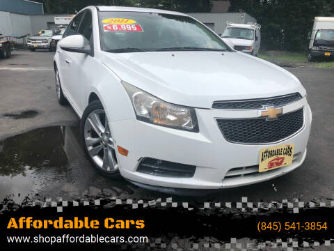 2011 Chevrolet Cruze for sale at Affordable Cars in Kingston NY