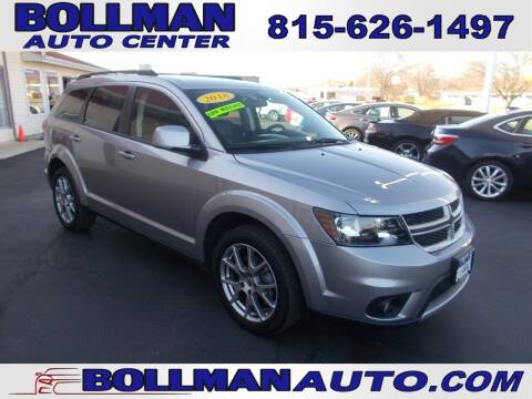 2018 Dodge Journey for sale at Bollman Auto Center in Rock Falls IL