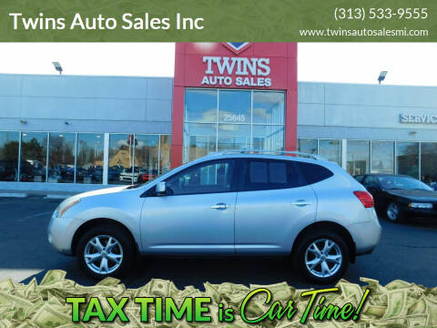 2010 Nissan Rogue for sale at Twins Auto Sales Inc Redford 1 in Redford MI