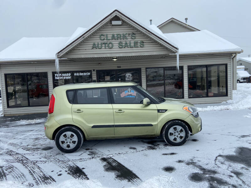 2013 Kia Soul for sale at Clarks Auto Sales in Middletown OH