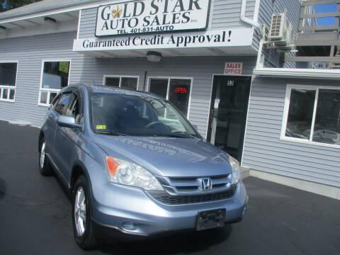 2010 Honda CR-V for sale at Gold Star Auto Sales in Johnston RI