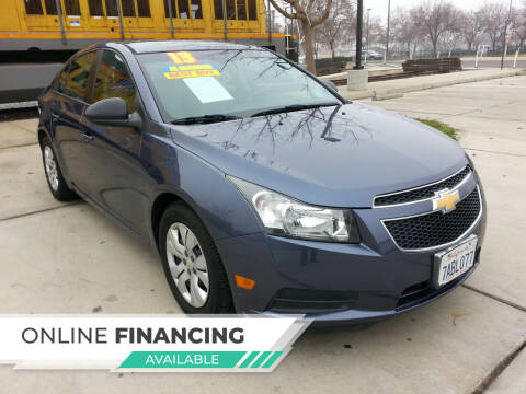 2013 Chevrolet Cruze for sale at Super Cars Sales Inc #1 in Oakdale CA