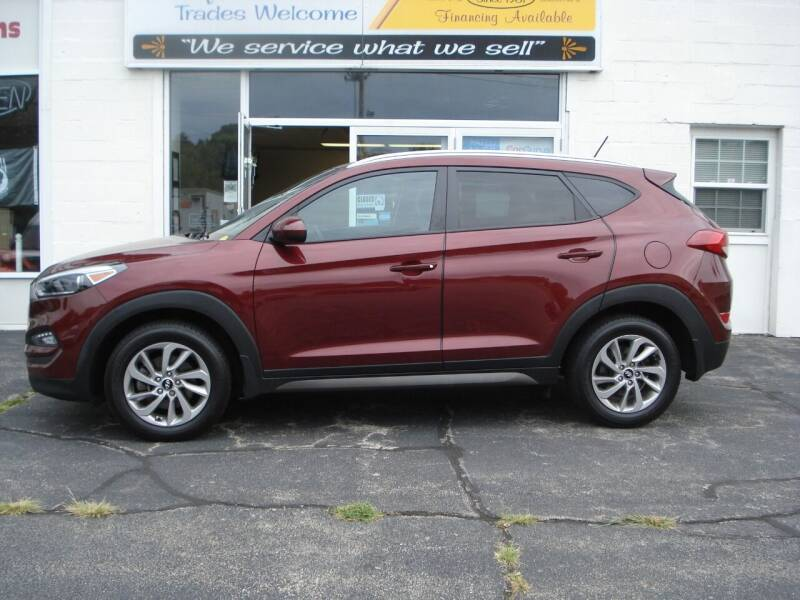 2016 Hyundai Tucson for sale at Colonial Auto of Worcester Inc in Worcester MA