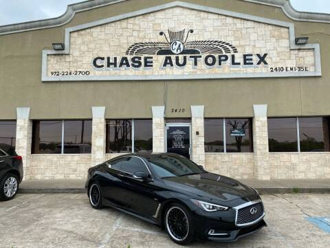 2018 Infiniti Q60 for sale at CHASE AUTOPLEX in Lancaster TX
