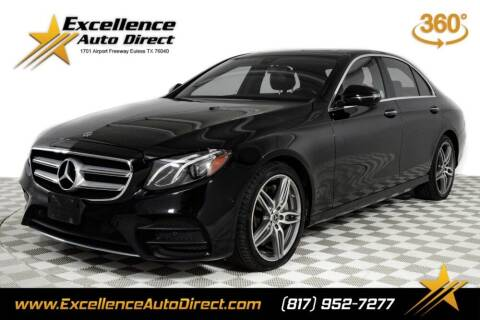 2018 Mercedes-Benz E-Class for sale at Excellence Auto Direct in Euless TX