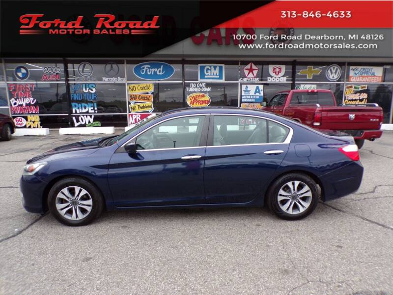 2013 Honda Accord for sale at Ford Road Motor Sales in Dearborn MI