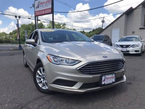 2017 Ford Fusion for sale at PAYLESS CAR SALES of South Amboy in South Amboy NJ