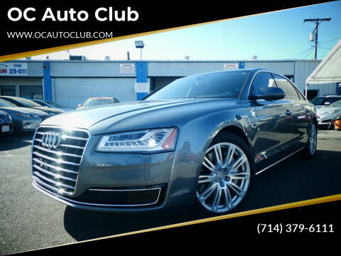 2016 Audi A8 L for sale at OC Auto Club in Midway City CA