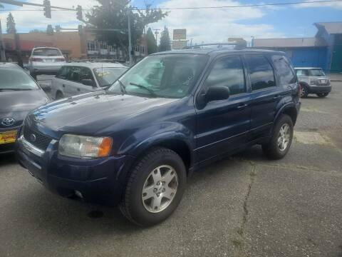 2003 Ford Escape for sale at Payless Car & Truck Sales in Mount Vernon WA