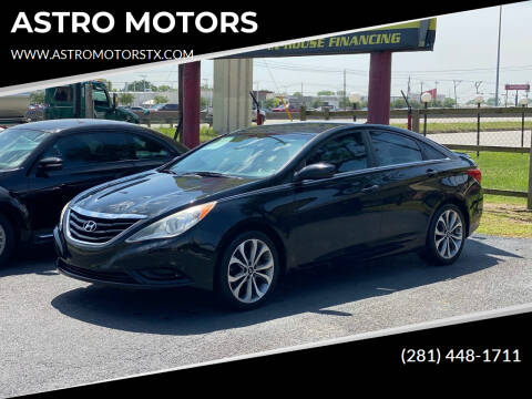 2012 Hyundai Sonata for sale at ASTRO MOTORS in Houston TX